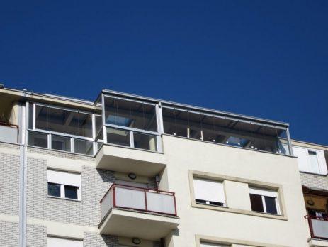 Zastakljivanje terase Fit in magnetnim sistemom Beograd